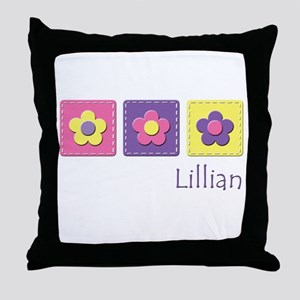 Daisies - Lillian Throw Pillow