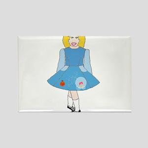 Cinderella Dancer Rectangle Magnet