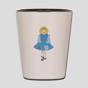 Cinderella Dancer Shot Glass