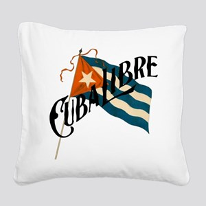 Cuba Libre Square Canvas Pillow