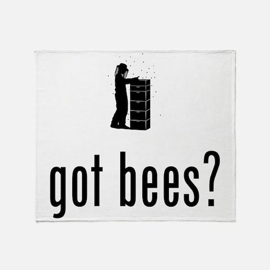 Beekeeper Throw Blanket