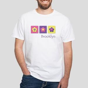 Daisies - Brooklyn White T-Shirt