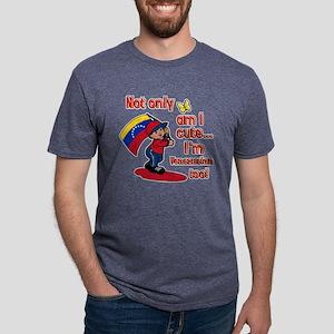 cute_venezuelan Mens Tri-blend T-Shirt
