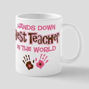 Hands Down Best Teacher Mug