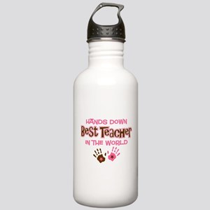 Hands Down Best Teacher Stainless Water Bottle 1.0