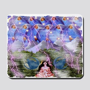 Rapture Under Elder Sky Mousepad