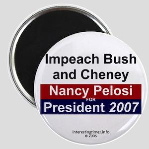 Pelosi 2007 Magnet