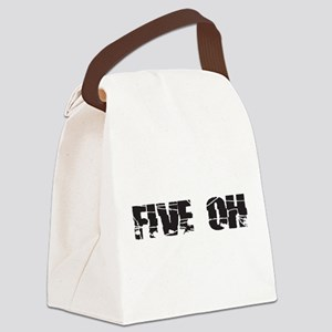 five oh broken Canvas Lunch Bag