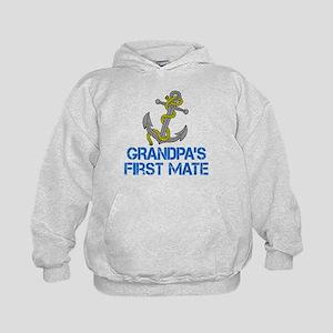 Grandpas First Mate Hoodie