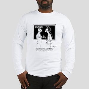 Welding Pod Cast Long Sleeve T-Shirt