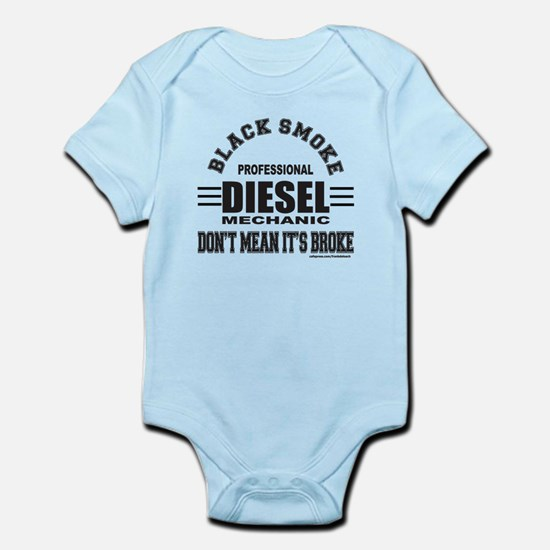 DIESEL MECHANIC Infant Bodysuit
