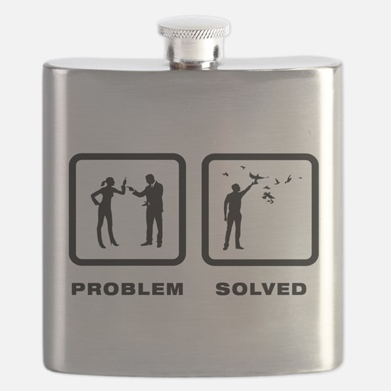 Pigeon Lover Flask
