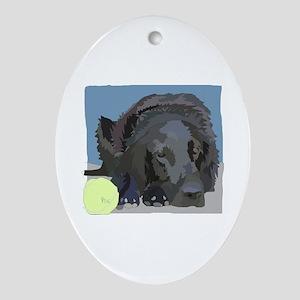 Gina Ornament (Oval)