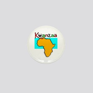 Happy Kwanzaa! Mini Button