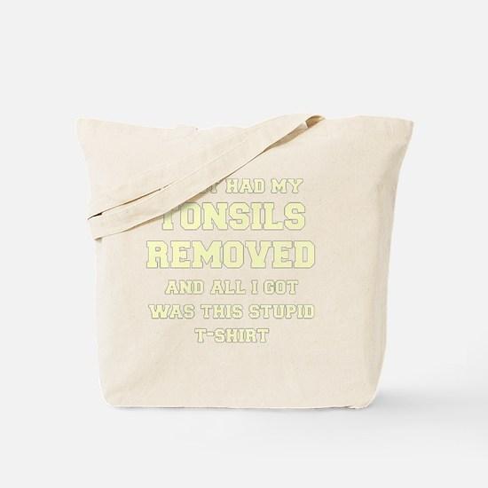 Cute Tonsils Tote Bag
