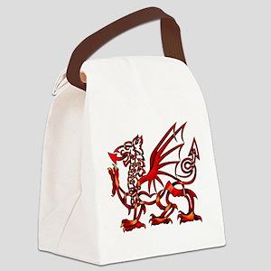 Welsh Dragon Canvas Lunch Bag