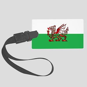 Welsh Dragon Luggage Tag