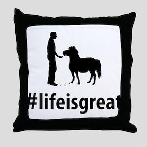 Pony Lover Throw Pillow