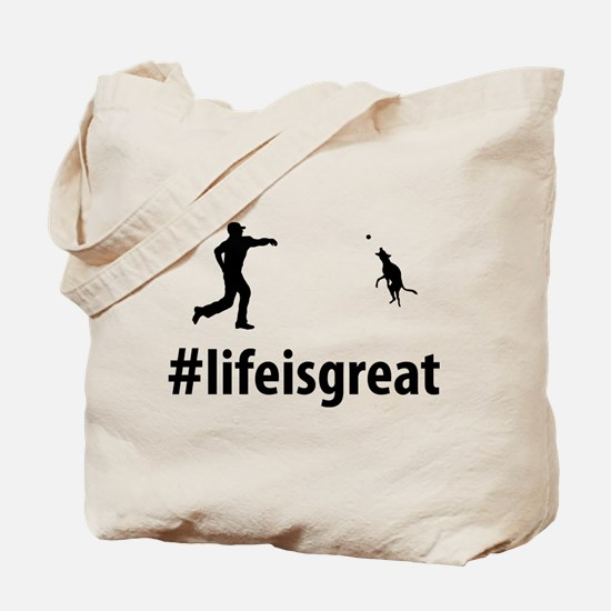 Play With Dog Tote Bag