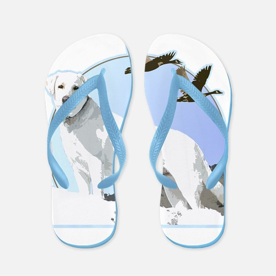 labrador Flip Flops