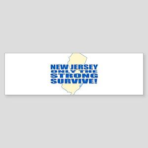 New Jersey Strong Bumper Sticker