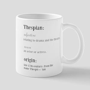 thespian definition Mugs