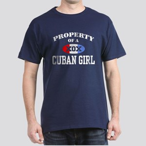 Property of a Cuban Girl Dark T-Shirt
