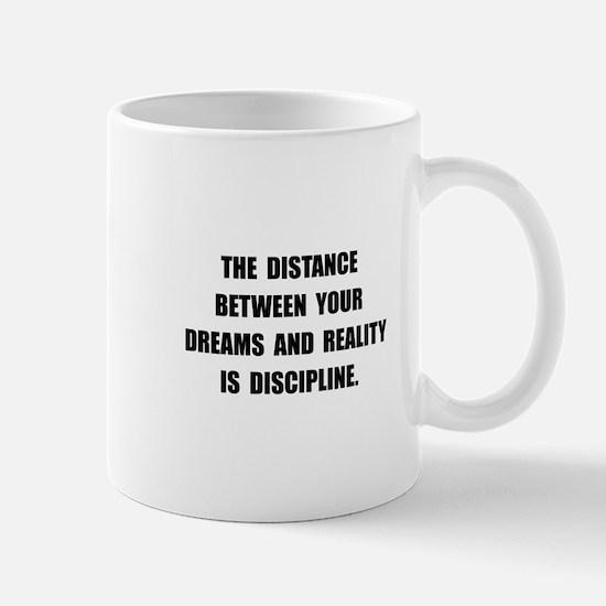 Discipline Quote Mug