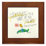 Acts of Appreciation Framed Tile