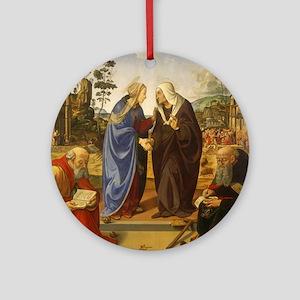 Piero di Cosimo - The Visitation with Saint Nicho