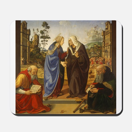 Piero di Cosimo - The Visitation with Saint Nicho
