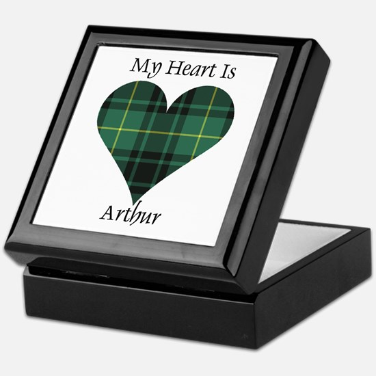 Heart - Arthur Keepsake Box