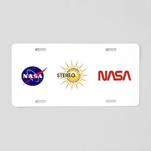STEREO Aluminum License Plate