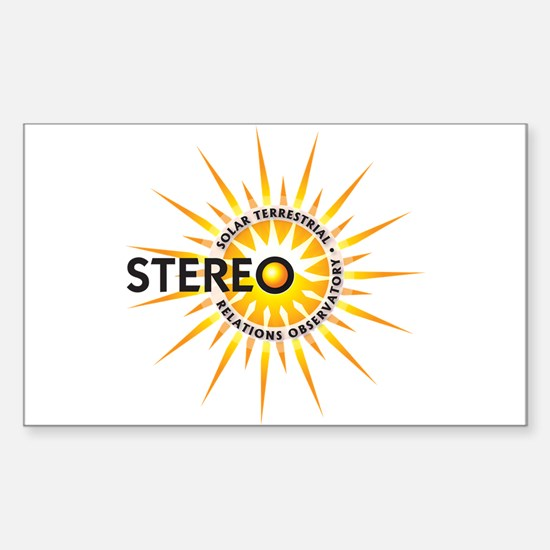 STEREO Sticker (Rectangle)