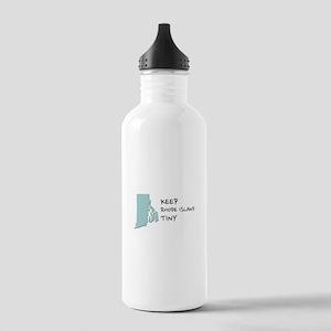 Keep Rhode Island Tiny! Water Bottle
