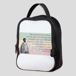 Haile Selassie Neoprene Lunch Bag