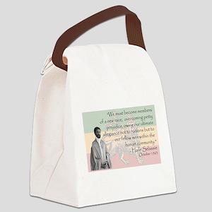Haile Selassie Canvas Lunch Bag