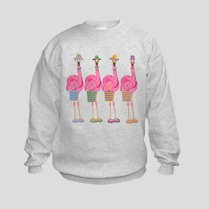 Snazzy Flamingos Sweatshirt