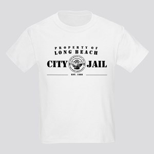 Long Beach City Jail Kids T-Shirt