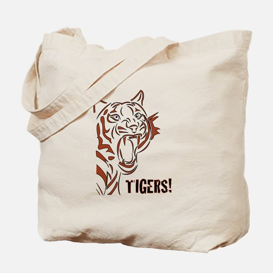 TIGERS!! Tote Bag