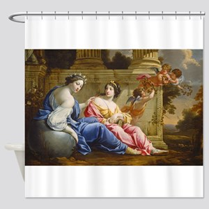 Simon Vouet and Studio - The Muses Urania and Cal