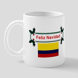 Colombian Feliz Navidad Mug