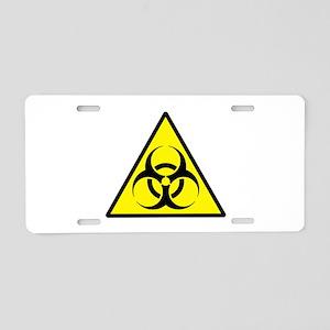 Biohazard Aluminum License Plate