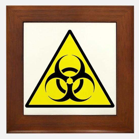 Biohazard Framed Tile