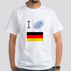 I SPACESHIP GERMANY (White T-Shirt)