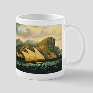 Thomas Chambers - Felucca off Gibraltar Mug