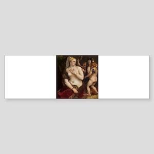 Titian - Venus with a Mirror Bumper Sticker
