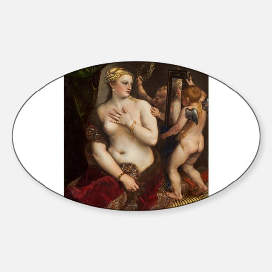 Titian - Venus with a Mirror Decal