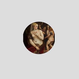 Titian - Venus with a Mirror Mini Button