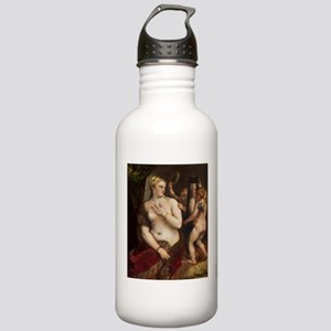 Titian - Venus with a Mirror Water Bottle
